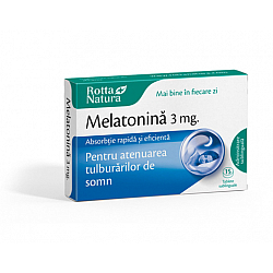 Melatonină 3 mg. tablete sublinguale