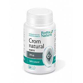 Crom natural Forte 200 mcg.