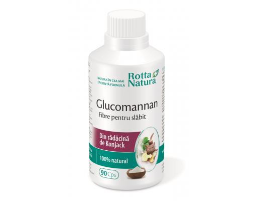 glucomannan fibre slabit 90 capsule sos silueta)