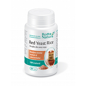 Red Yeast Rice 635 mg.