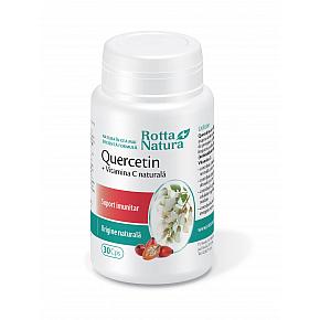 Quercetin + Vitamina C naturală