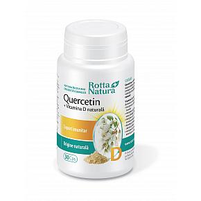 Quercetin + Vitamina D naturală
