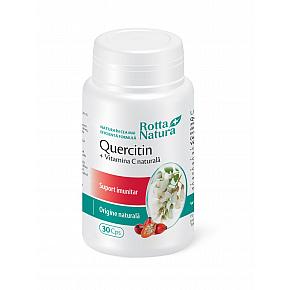 Quercitin + Vitamina C naturală