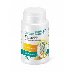 Quercitin + Vitamina D naturală