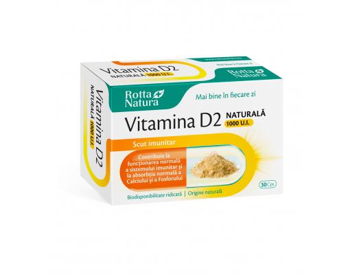 imageVitamina D2 naturala 1000 U.I