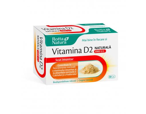 imageVitamina D2 naturala 2000 U.I