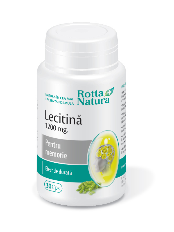 Lecitina 1200 mg.